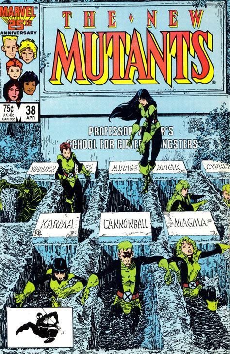 new mutants vol 1 1 new mutants vol 1 38 comic marvel and comic