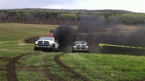 cummins charger rollin coal 2005 and 2004 dodge cummins rollin coal youtube
