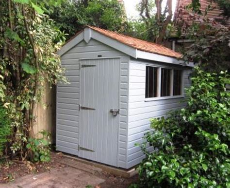Garden Shed Paint Colours by Garden Shed In Colonial Colours Using Our Valtti Paint Systems This Finish Provides The Best