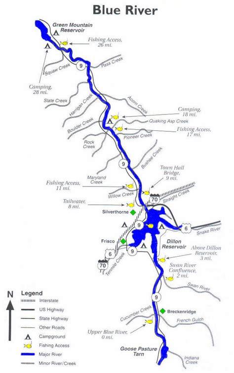 blue river colorado map images blue river