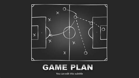 game plan layout editable game plan template for powerpoint slide design