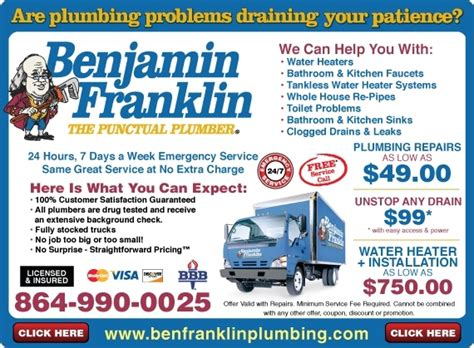 Benjamin Franklin Plumbing Pittsburgh by Mr Rooter Quotes