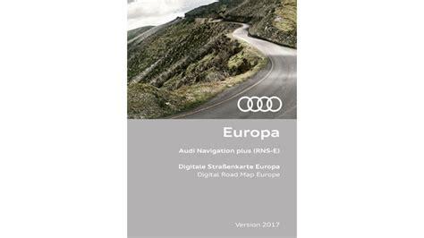 Update Audi Navigation Plus by Audi Navigation Plus Rns E 2017 Gps Underground