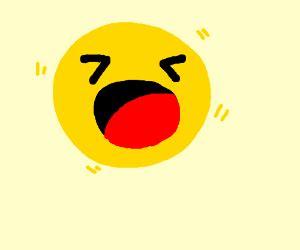 emoji yelling psst psst chiky chiky kiss noisy smile ahh