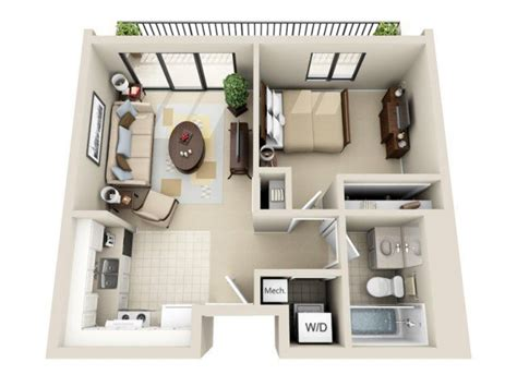 One Bedroom Design Layout by Floor Plans For An In Apartment Addition On Your Home