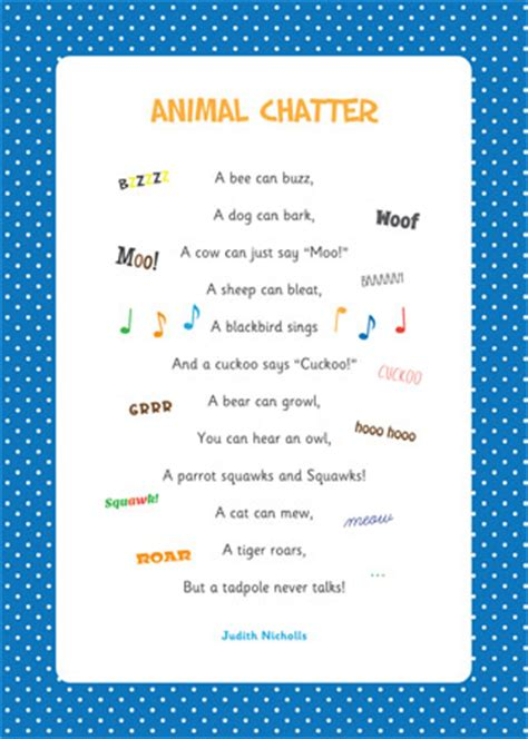 new year poems ks1 animal chatter poem eyfs and ks1 free early years