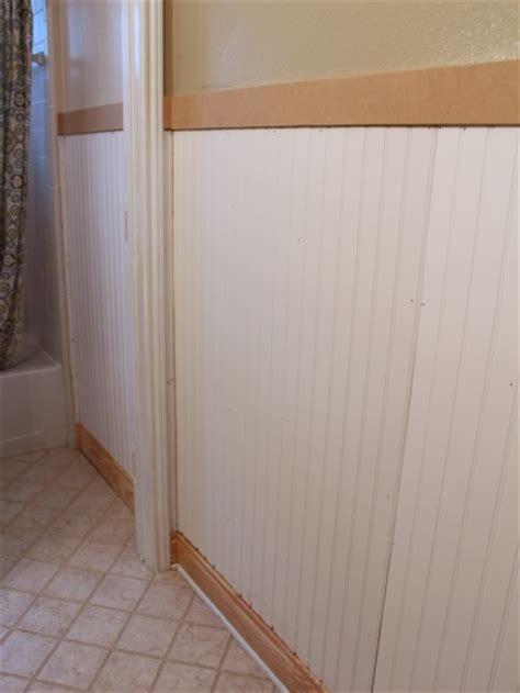 Mdf Beadboard In Bathroom by True Value Start Right Start Here