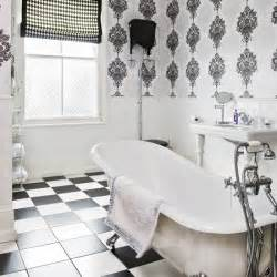 Vintage Black And White Bathroom Ideas by Deco Style Monochrome Bathroom Deco Decorating