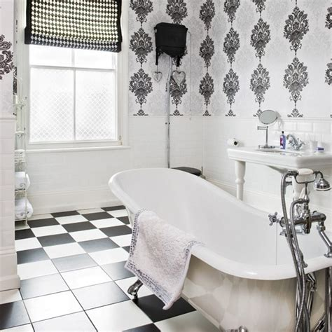 vintage black and white bathroom ideas deco style monochrome bathroom deco decorating