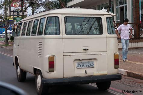 brazil volkswagen brazilian vw bay bus around iguazu falls classiccult