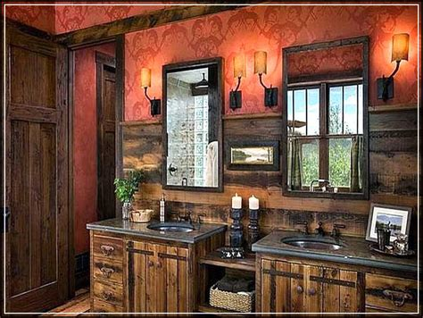 rustic bathroom decor ideas tips to enhance rustic bathroom decor ideas
