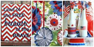 fourth of july decorations 26 easy 4th of july crafts patriotic craft ideas diy decorations for fourth of july