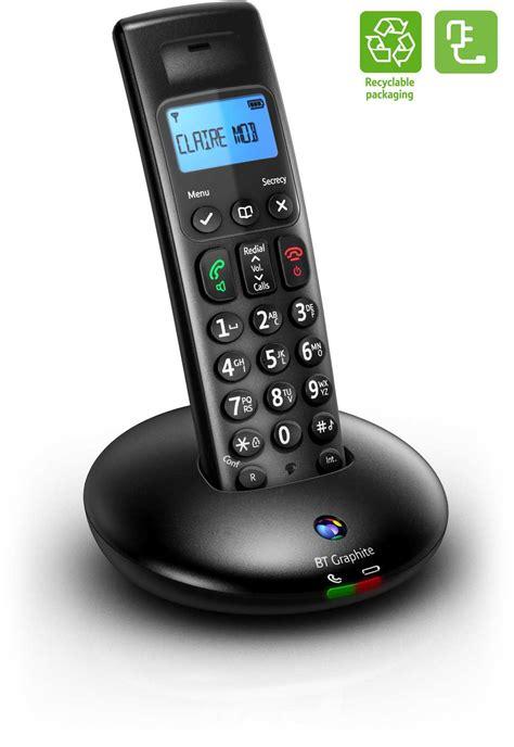 Bt Phone Lookup Uk Bt Graphite 2500 Single Dect Digital Cordless Phone