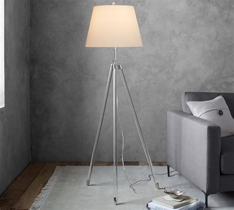 Home Decor Pottery Barn by Acrylic Tripod Floor Lamp Pottery Barn