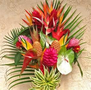 best flower arrangements quot best of kauai quot tropical flower arrangement features lots of amazing tropicals our largest