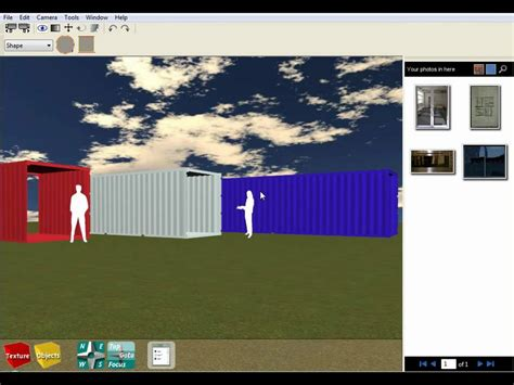 shipping container house design software tutorial 1