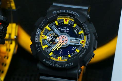 G Shock Ga 110 Black Yellow g shock