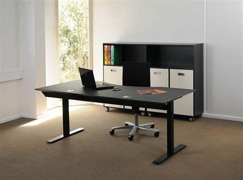 scrivania nera scrivania elettrica nera kombi sinistra 2l msp 180100 3