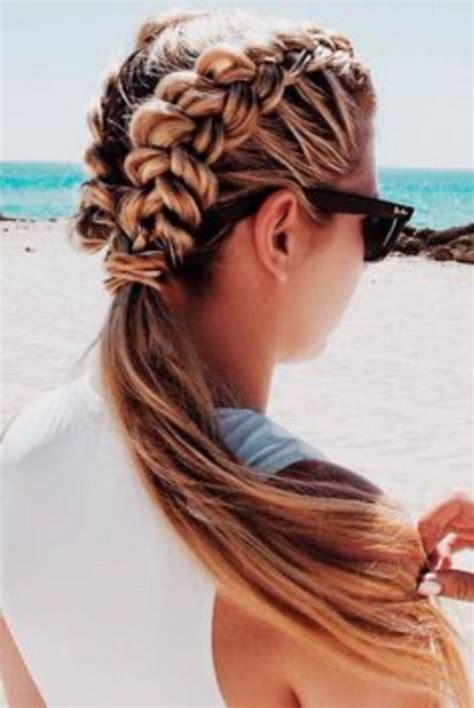 hairstyles for long hair at the beach beautiful beach hairstyles ideas 373 montenr