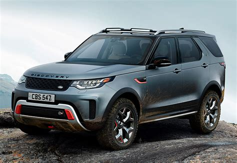 discovery land rover 2018 2018 land rover discovery svx specifications photo