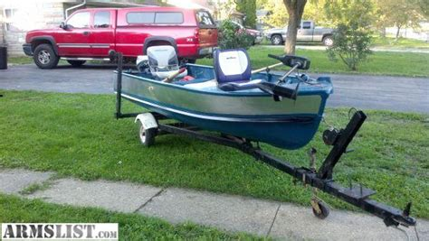 used jon boats for sale in indiana armslist for sale 14 john boat with trailer and