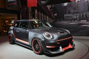 Future Mini Cooper Iaa Frankfurt 2017 Mini Cooper Works Gp Concept