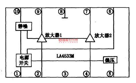 integrated circuit for lifier la4533m dual channel power lifier integrated circuit lifier circuits audio lifier