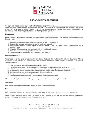 printable engagement letter forms