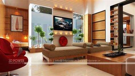 Home Drawing Room Interiors 3d Interior Design Rendering Services Bungalow Home