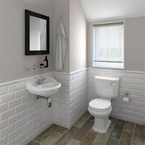 small bathroom with white suite and mirrors housetohome 25 best ideas about cloakroom suites on pinterest