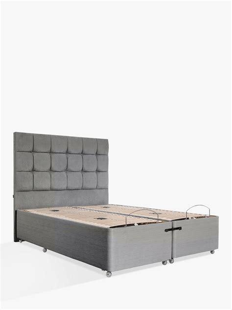 tempur adjustable divan bed super king size  john lewis