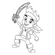 disney coloring pages jake and the neverland coloring page jake and the never land disney 4500