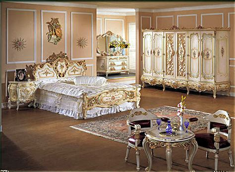 how to decorate a baroque style bedroom interior