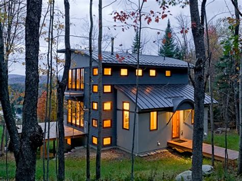 small houses big time book how architects are reimagining small lloyd s blog nicely lit house in woods of white mountains