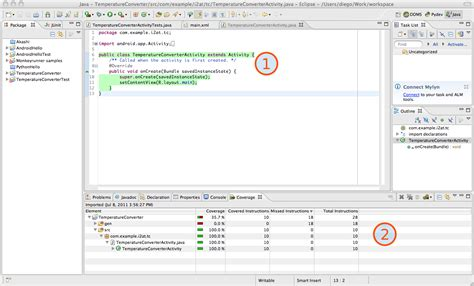 tutorial android app eclipse diego torres milano s blog eclipse android and emma code