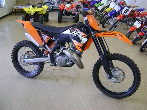 Ktm Us 2008 Ktm 144 Sx Mx For Sale On 2040 Motos