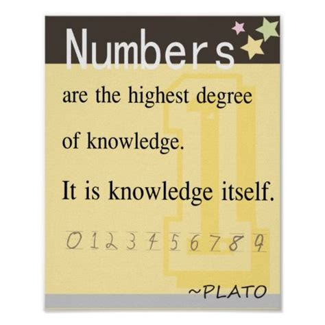 Framewoods Poster Quotes 4 math quote by plato posters math quotes and mathematicians math quotes