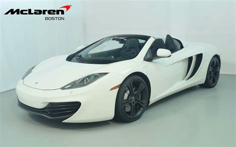 2013 Mclaren Mp4 12c by 2013 Mclaren Mp4 12c Spider For Sale In Norwell Ma 02079