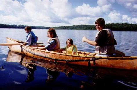 canoes dwight ontario birchbark canoes photos