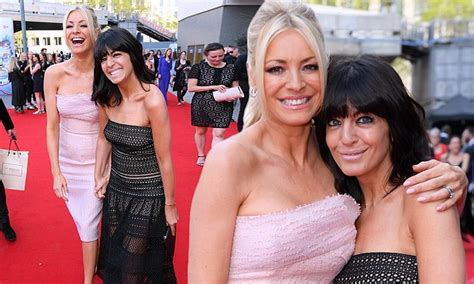 Wintour And Tess Daly by Jacenko Wears All Black To Louis Vuitton Fashion Show