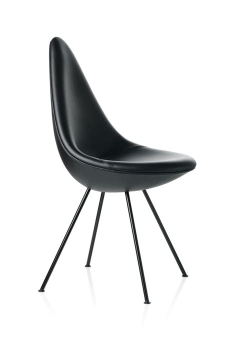 Drop Fritz Hansen by Fritz Hansen Drop Chair Black Edition Gr Shop Canada