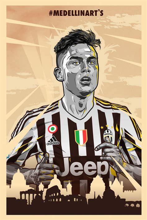 Juventus Football Club Wallpaper Iphone Sepakbola Fans Jersey Classic Casing Hpcasing Iphone Tersedia Type 4 4s 5 5s 5c paulo dybala 2015 16 juventus poster by medellinarts on
