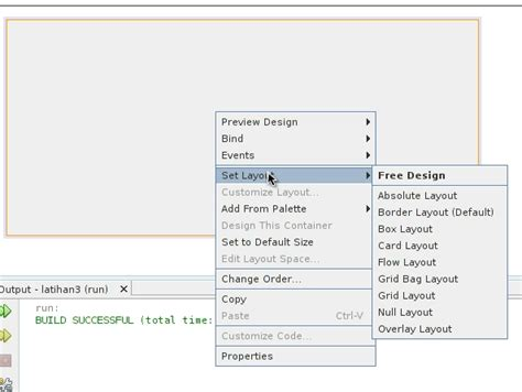 java layout text field penggunaan text field label dan button pada netbeans ide