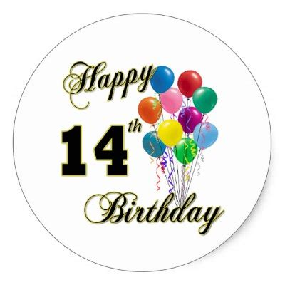Happy 14th Birthday Wishes 14th Birthday Quotes For Boys Quotesgram