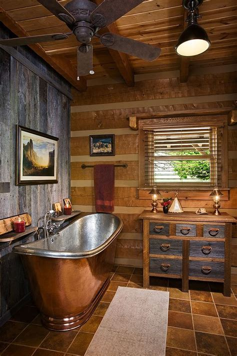 log cabin home decor 25 best ideas about log cabin bathrooms on pinterest rustic bathroom sinks cabin bathrooms