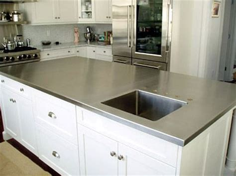 Stainless Steel Sink Countertop Integrated by Best 25 Stainless Steel Island Ideas On