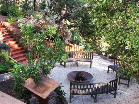 garden oasis pit functional outdoor spaces outdoor design landscaping