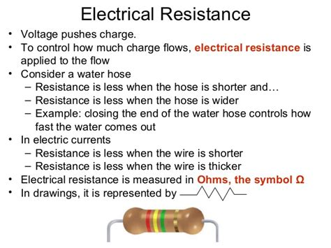 how to make a water resistor electric current