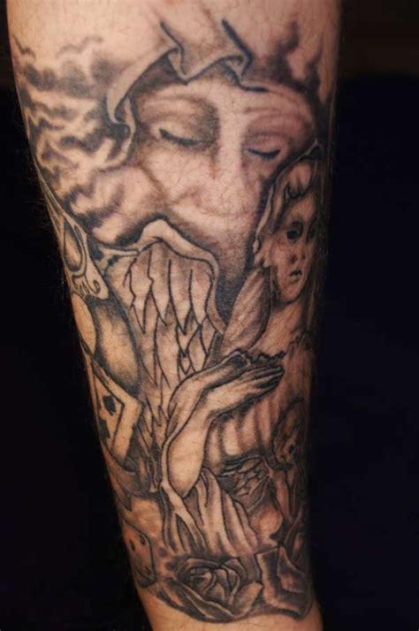 tattoo ideas leg cool leg tattoo design busbones