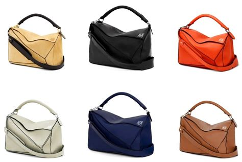 lowe bags loewe puzzle bag reference guide